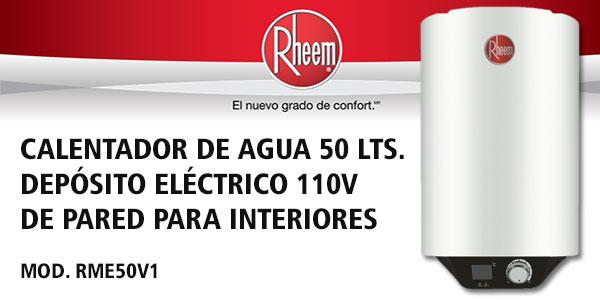 Boiler de deposito el ctrico 50 litros 127v para montaje for Manual diseno de interiores pdf